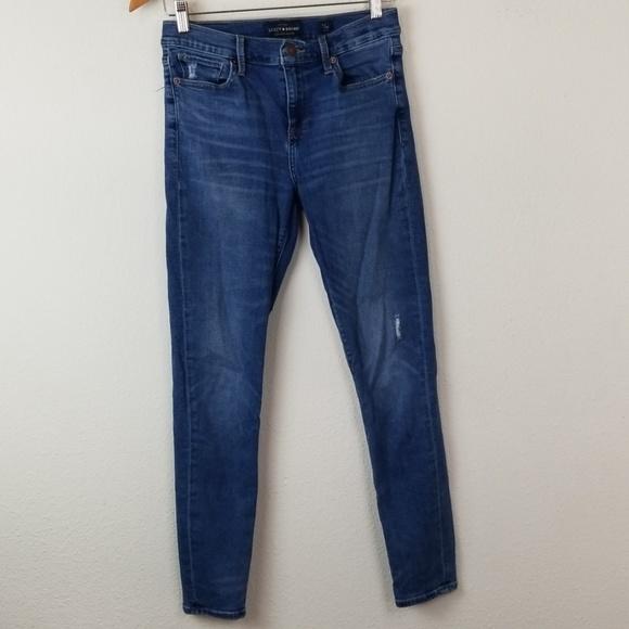Lucky Brand Denim - Lucky Brand Jeans 6/28 Brooke Legging Distressed
